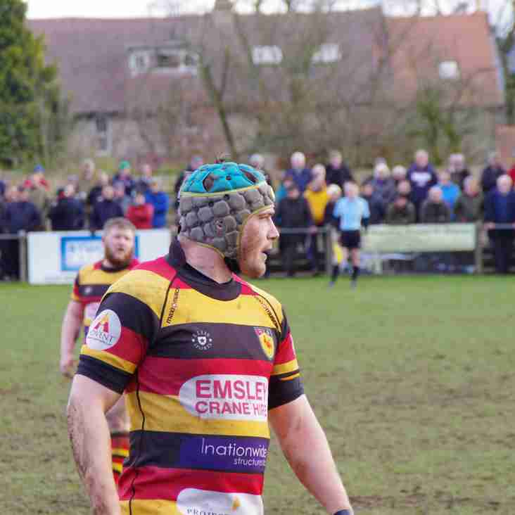 Caldy visit brings up significant appearances for Harrogate trio.