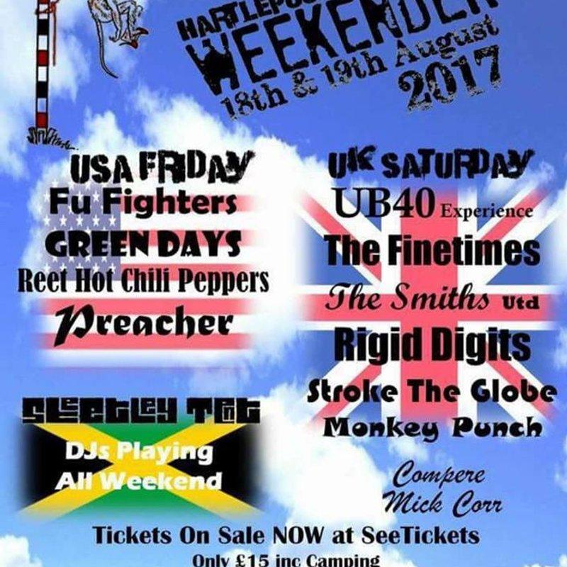 Hartlepool Weekender 18-19 Aug