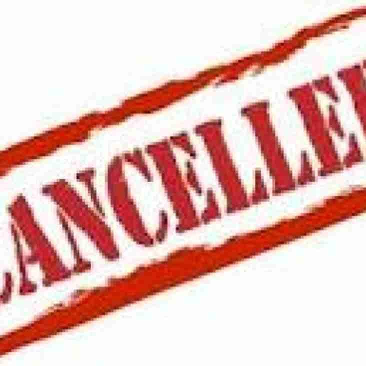 Micros / Minis training cancelled - 30 Jan