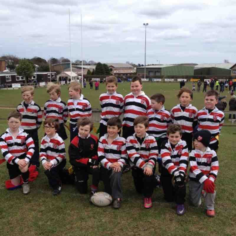 U9 team at Alnwick 2013