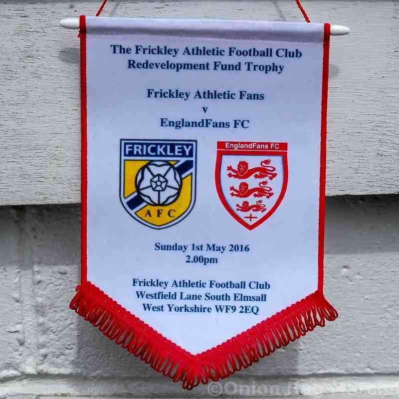 Frickley Fans v England Fans