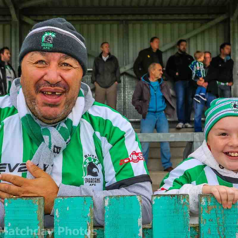Blyth Spartans 3 Frickley 1 -  FA Cup 03/09/16