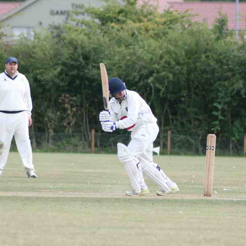 2nd XI at Gedling & Sherwood (8/8/2015)