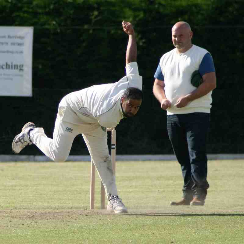 Ellerslie 2 bowling v Farndon 30 July 2016