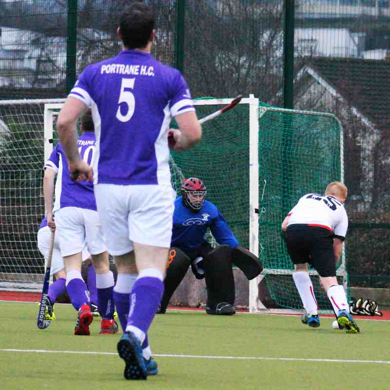 Men's Division 3: YMCA vs. Portrane