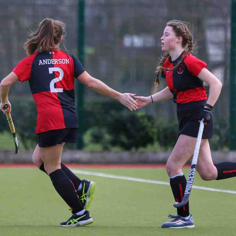 Ladies' Div 3: YMCA vs. UCD (Photos: Sinéad Hington)