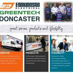 Edmundsons Electrical Doncaster Continue as Club Sponsor