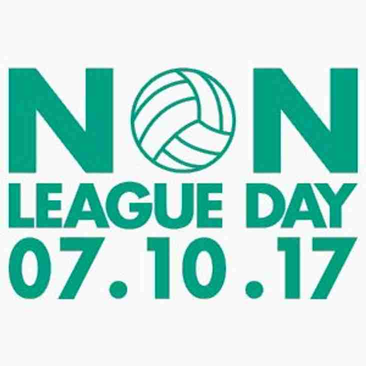 Join us on Non League Day!