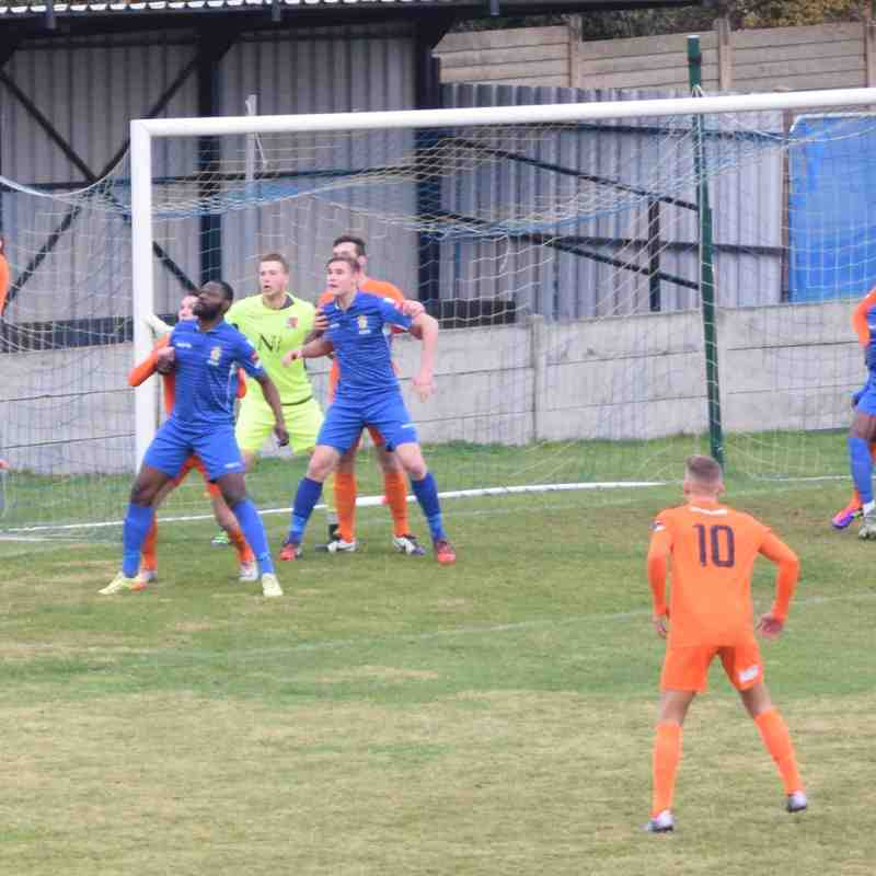 Aveley 3 - 0 Maldon and Tiptree - 19th November 2016