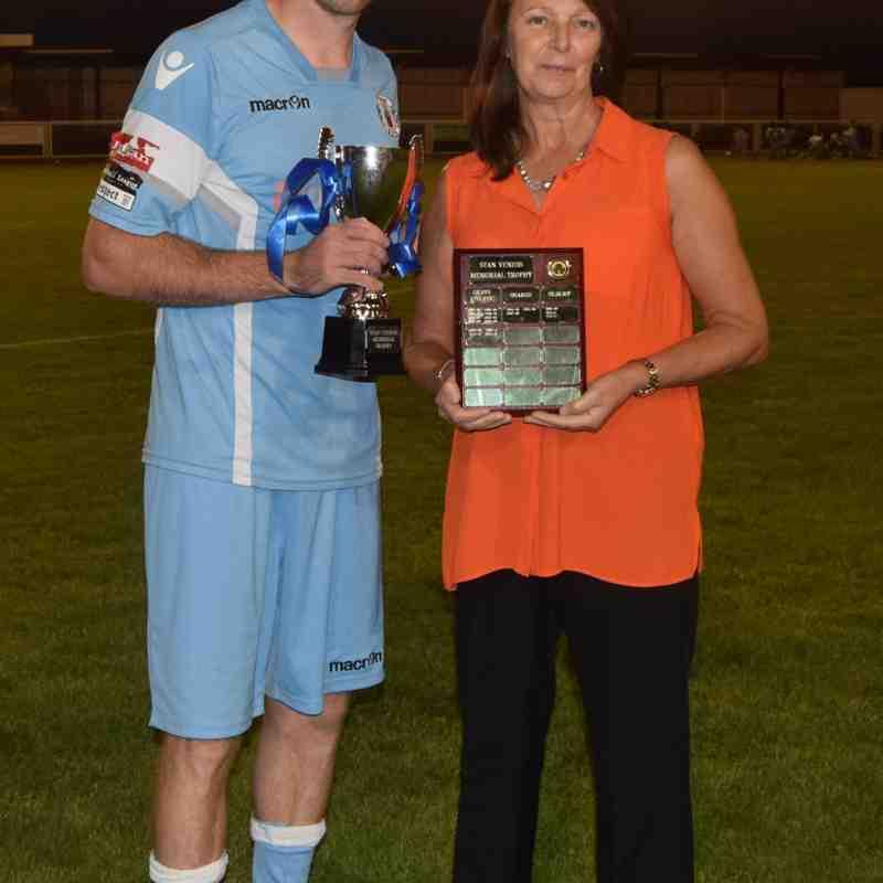 Stan Veness Memorial Trophy Tilbury v Grays Athletic 25th July 2017