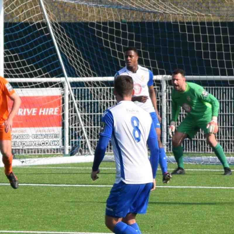 Aveley 0 - 5 Maldon and Tiptree - 14th April 2018
