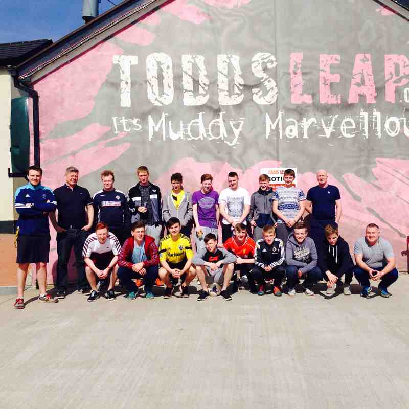 U16's Easter Trip to Todds Leap