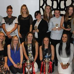 A season to Remember after winning the Double... Presentation evening