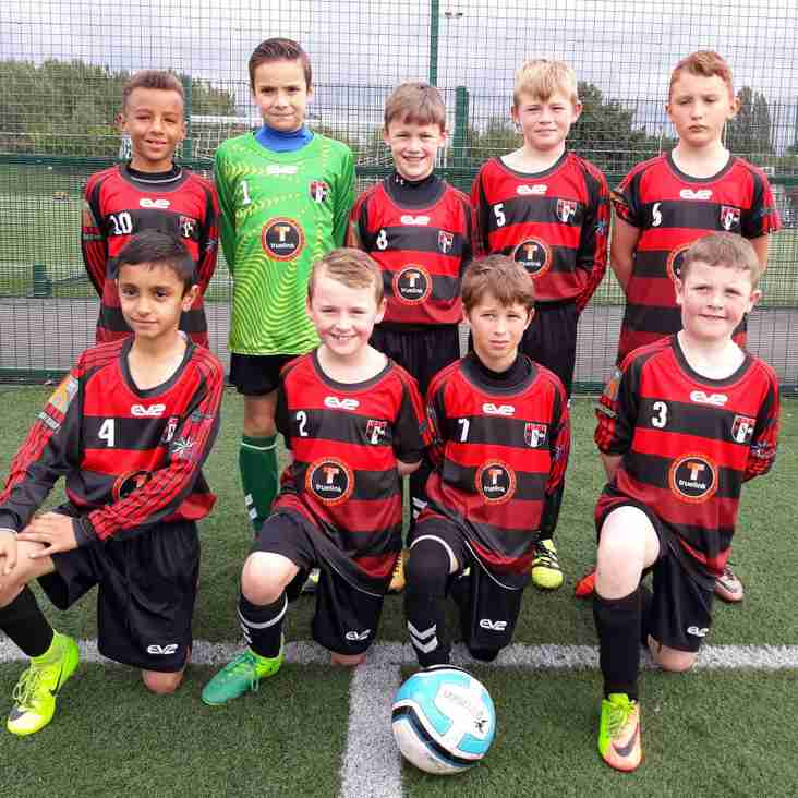 U10s Reds 100% start continues in a 4-0 win vs Stalybridge Celtic
