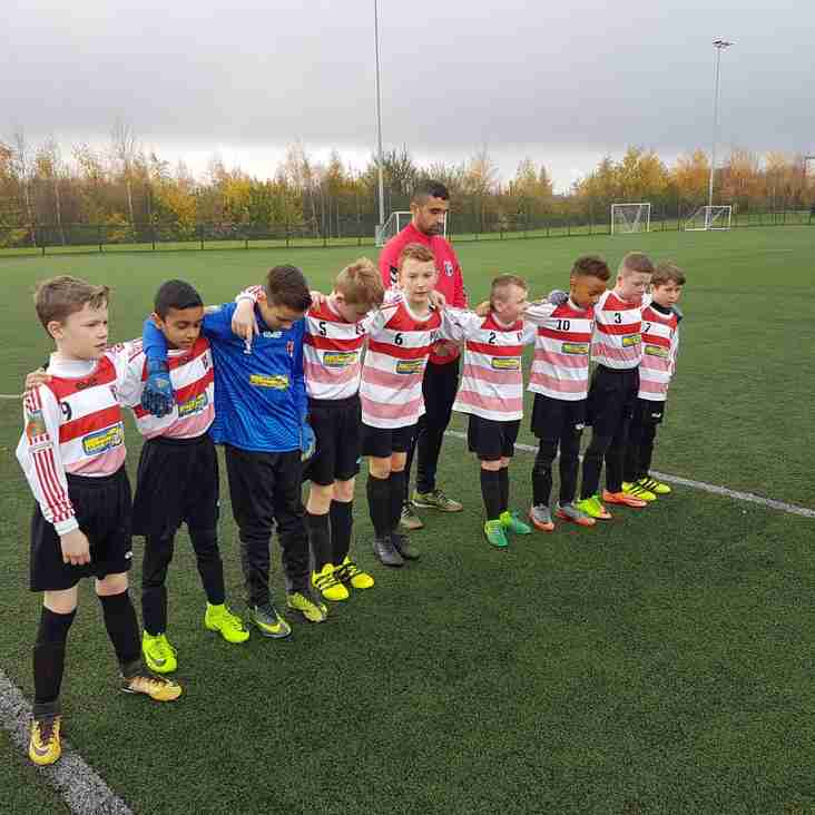 U10s Reds go through on penalties  in the FA Challenge Cup vs Failsworth Dynamos