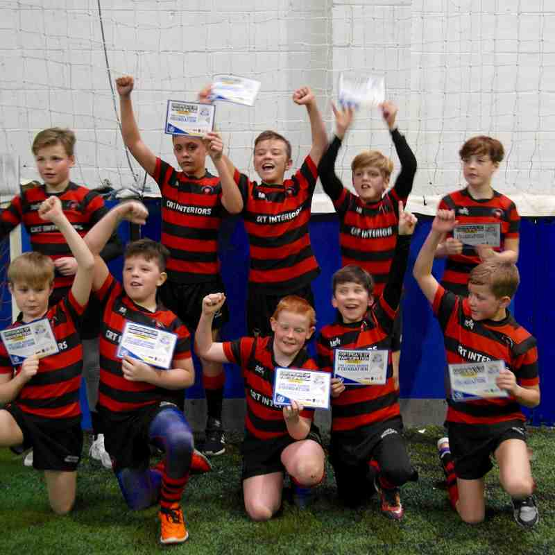Under 11's at Leeds Rhinos Touch Festival 23/01/2016