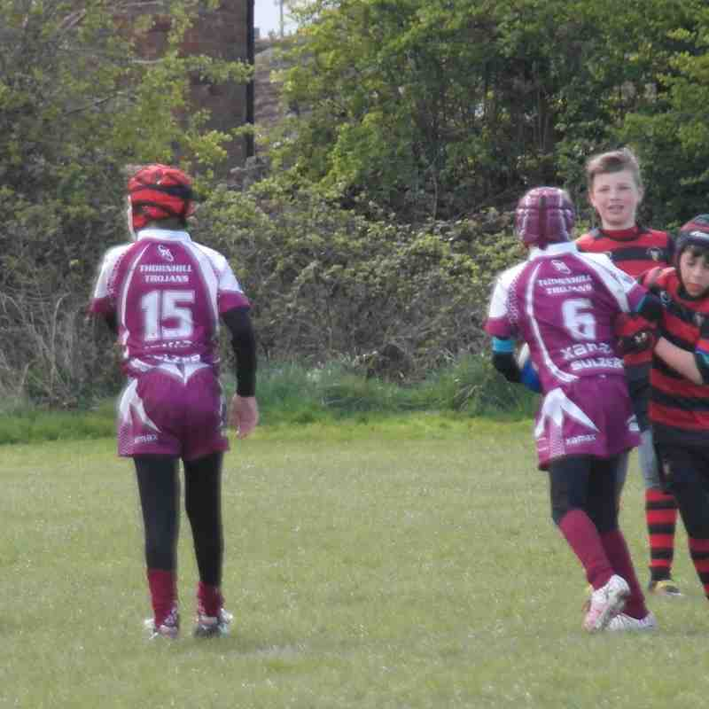 Under 11's v Thornhill Trojans 30/04/2016