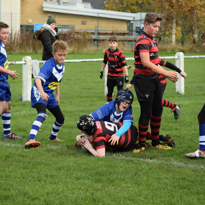 Under 12's v East Hull (BARLA CUP) 05/11/2016