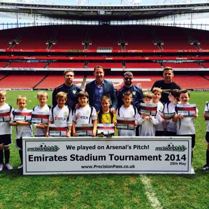 U 9's Visit to The Emirates Stadium