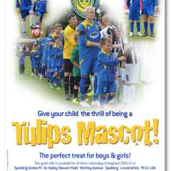 Sign Up To Be A Tulips Matchday Mascot