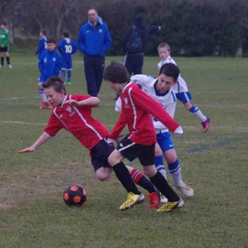 Ridgeway 2003 Rovers vs Castle Juniors - 2nd March 2013