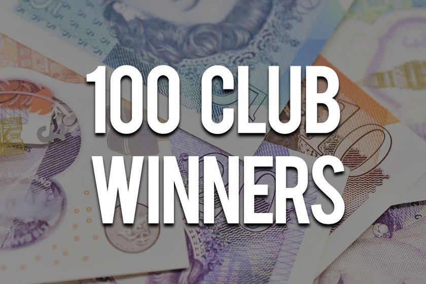 100 Club January Winners