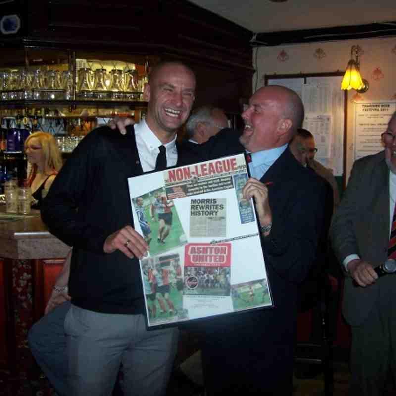 Gareth Morris 10th Anniversary of his quickest ever FA Cup goal