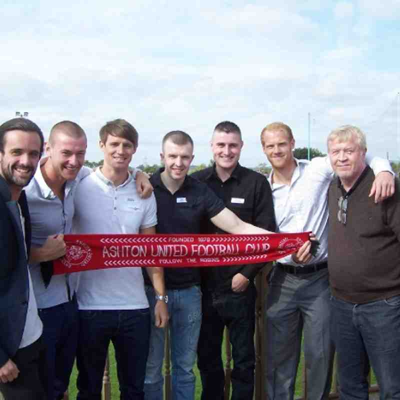 Ashton United V Grantham Town (Sponsored by Alex Frost & Friends15.09.12)