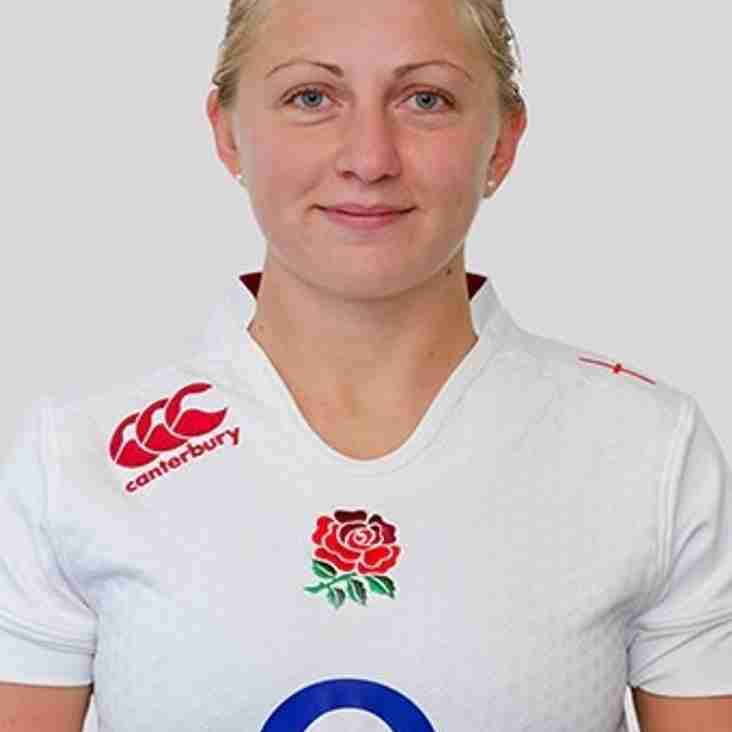 Ceri Large, England international, returns to the club Friday, 29th April