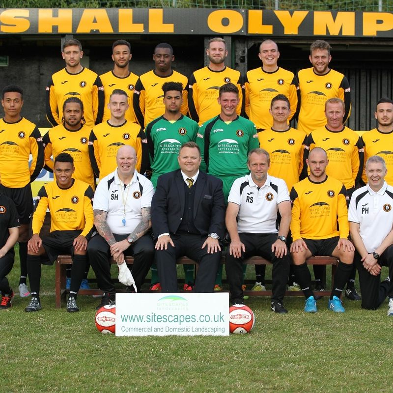 First Team beat Halesowen Town 1 - 2