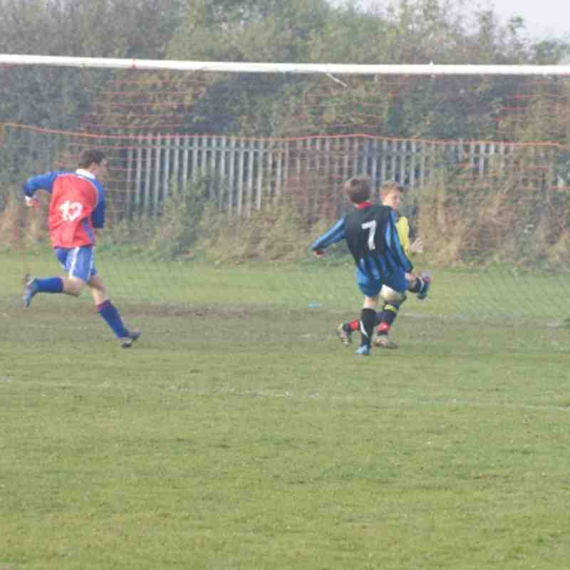 South Park Rangers Red v U14s 4th November 2012