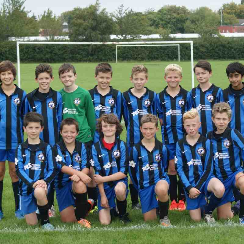 U12s Player Profiles 2015-16