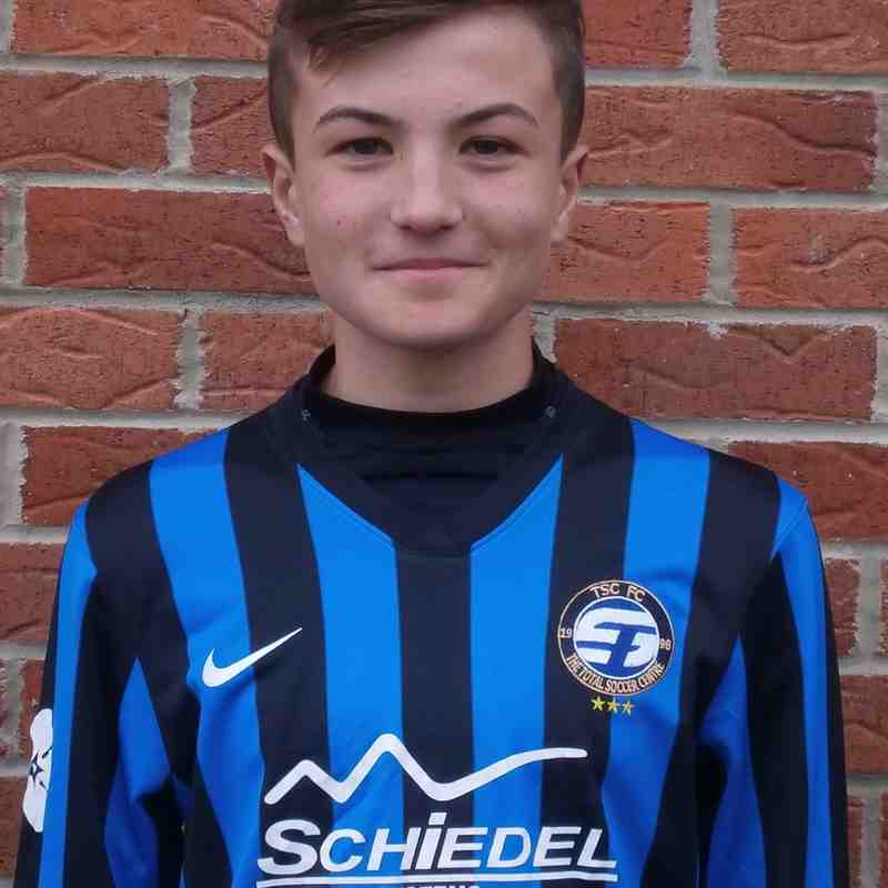 U14s Player Profiles 2015-16