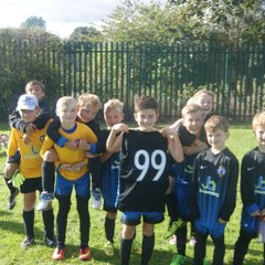 Mount Pleasant Rangwers v U9As Cup 2nd October 2016