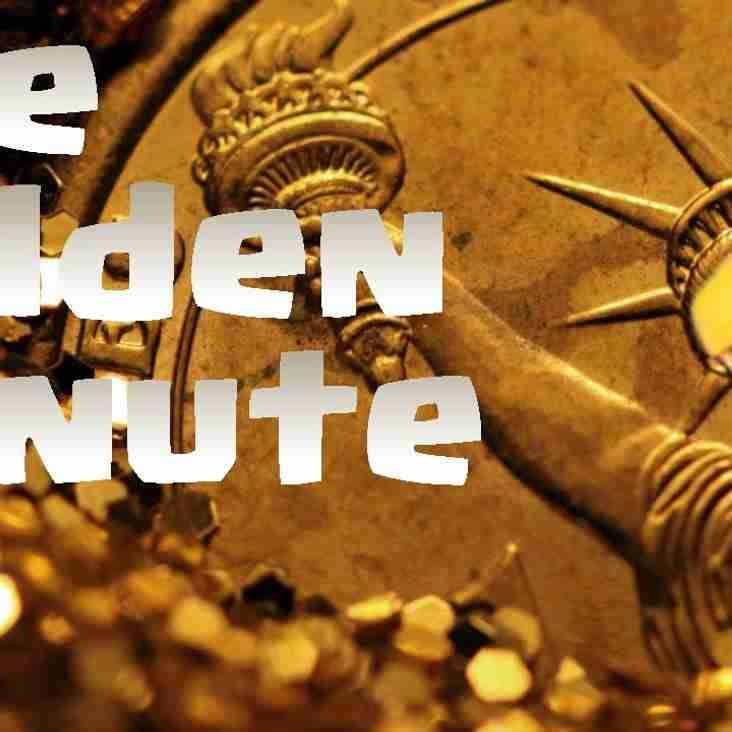 """""""GOLDEN MINUTE"""" WEEKLY PRIZE DRAW!"""