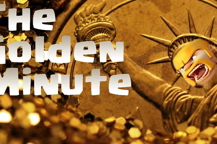 """GOLDEN MINUTE"" WEEKLY PRIZE DRAW!"