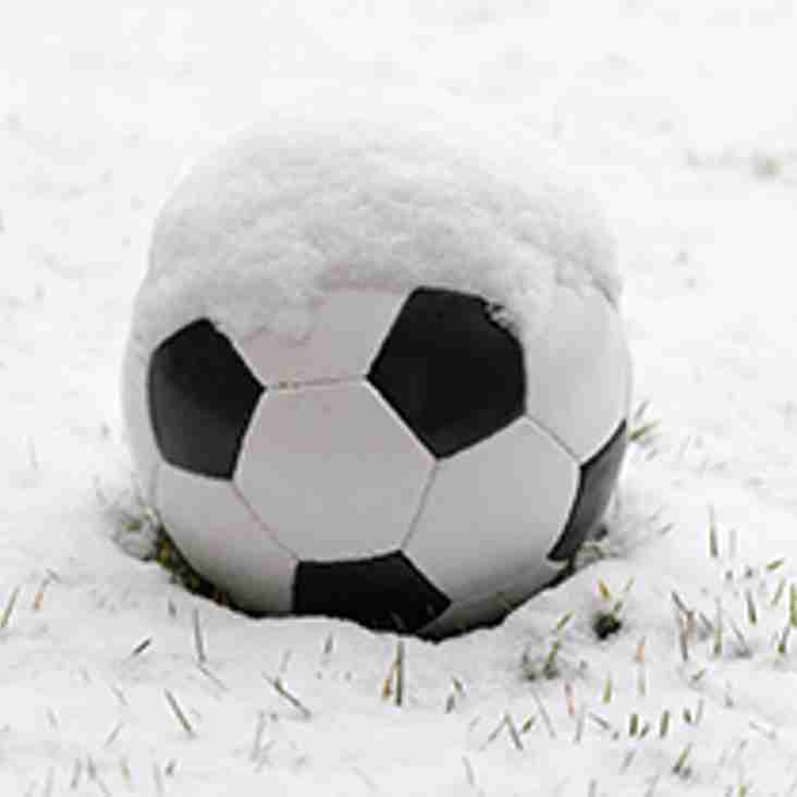 ALL MATCHES OFF ON SUNDAY 4th MARCH