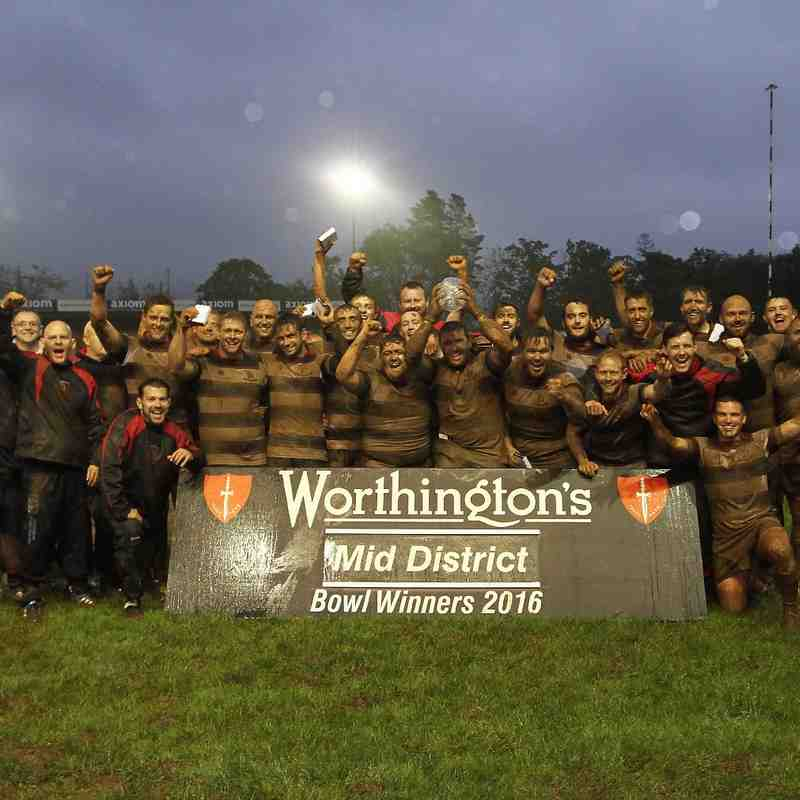Worthington MDRU Bowl Final - Dowlais 25 Porth Harlequins 3