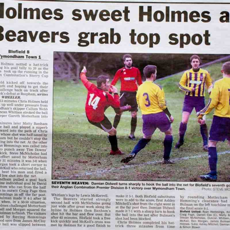 Great Yarmouth Mercury 1st March 2013