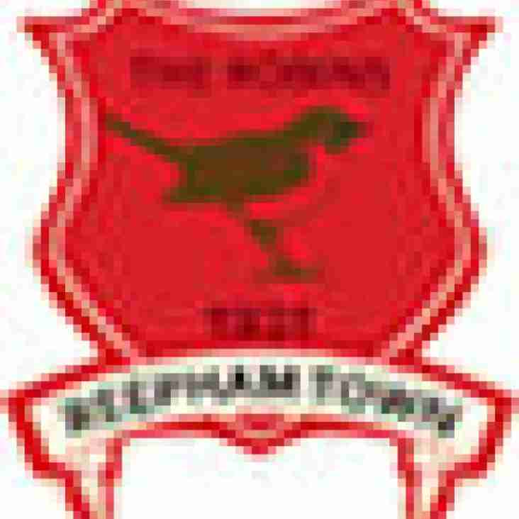Reepham Town 1 Blofield Utd 4