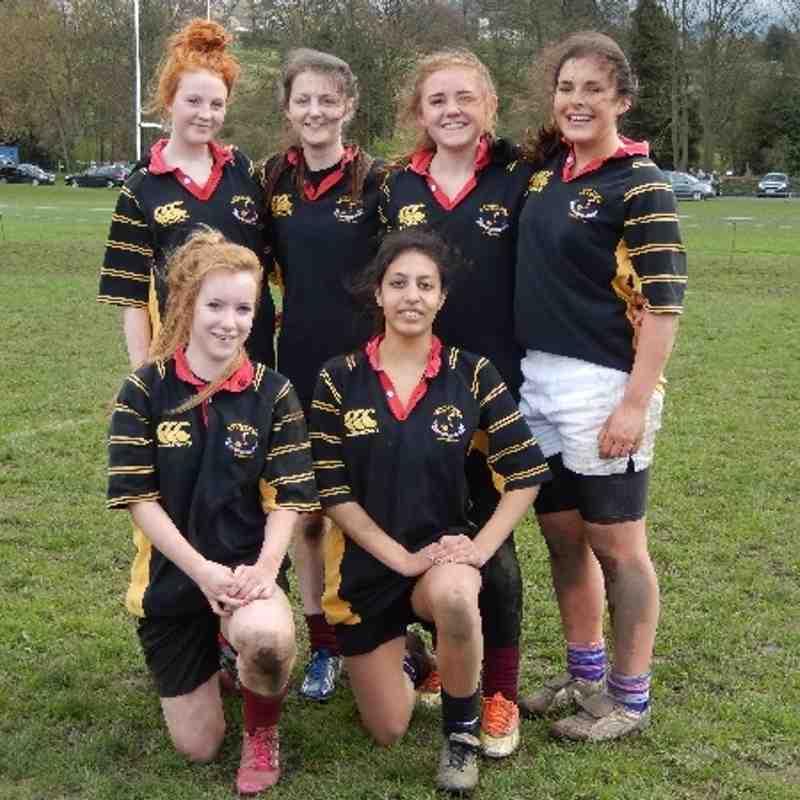 Under 15 Girls Bishop Auckland 6th April 2014