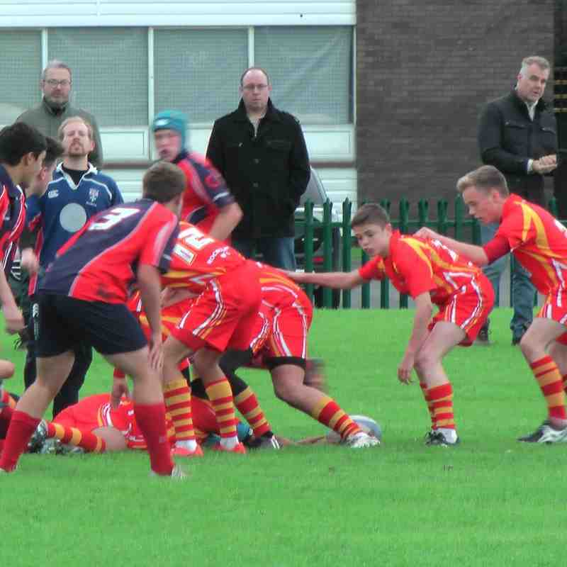 U15s Rockcliff vs Carlisle 11th Oct 2015