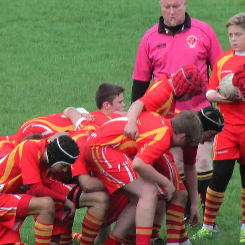 U15s Rockcliff vs Morpeth 18 Oct 2015
