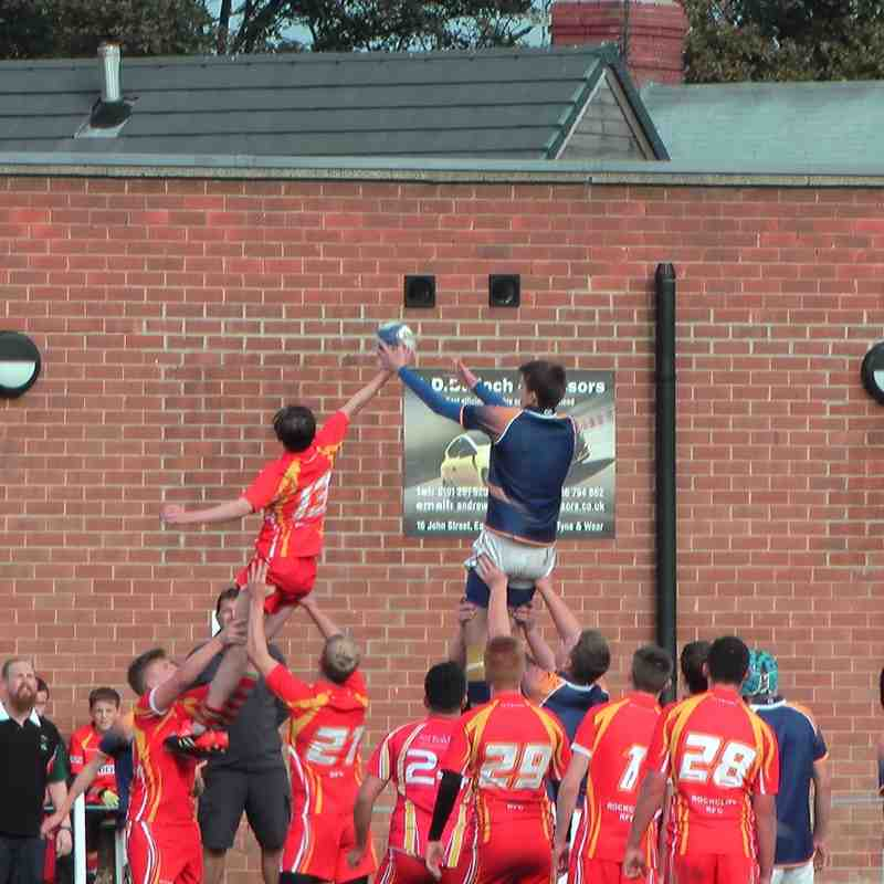 U16s v Alnwick 9th October 2016