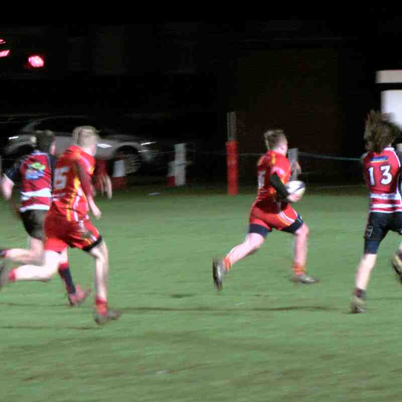 U15s Vs Morpeth 01 March 2017