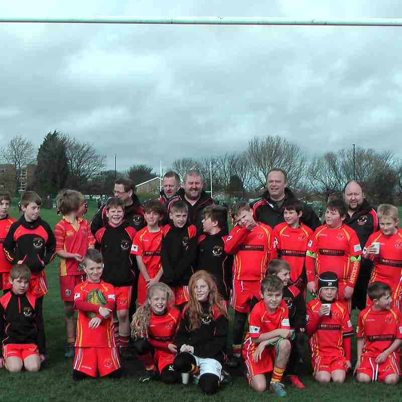 U10s Vs Northern 19th March 2017