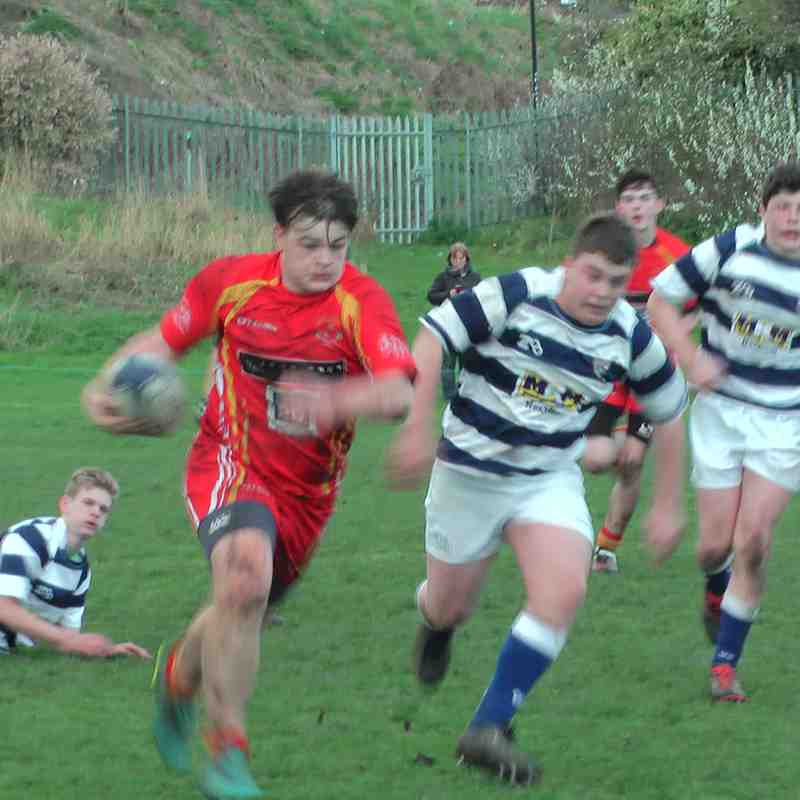 U15s Vs Tynedale 2nd April 2017