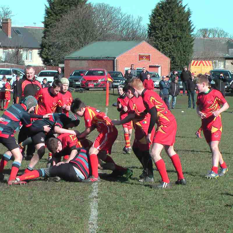 U13s Vs Westoe 25th Mar 2018