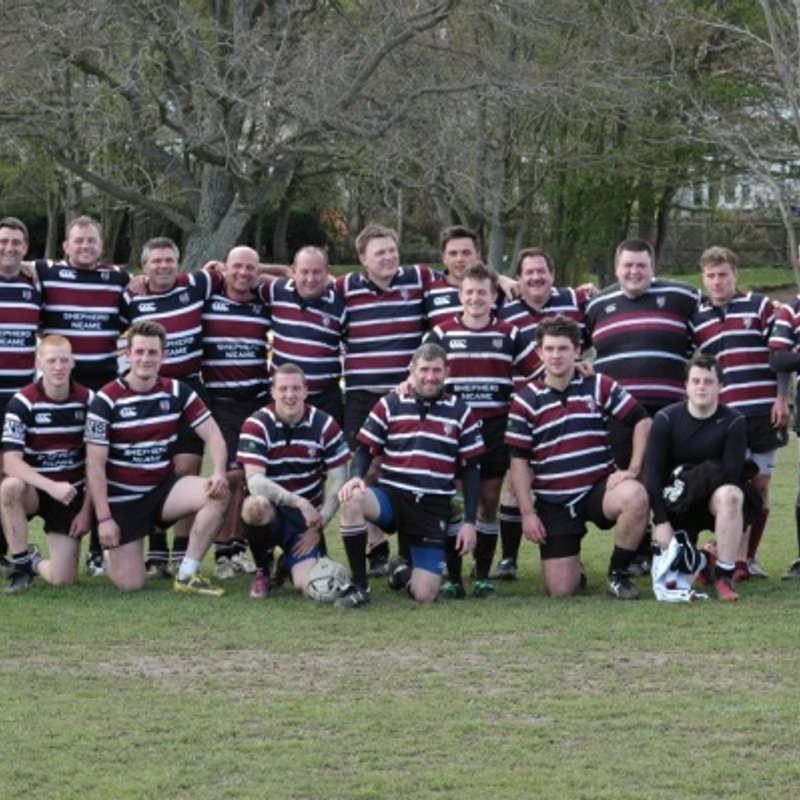 Ex A XV lose to Beckenham V 60 - 5