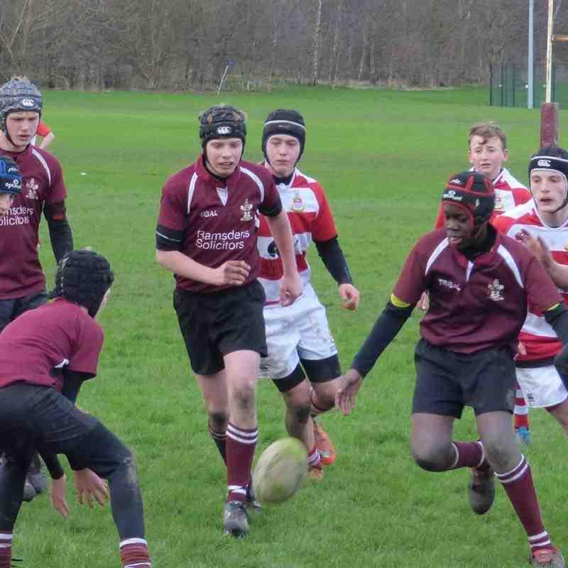 MRFC U14s in action